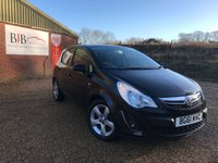 USED 2011 61 VAUXHALL CORSA 1.2 SXI AC 5d 83 BHP, ONLY 26K MILES