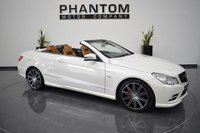 USED 2011 61 MERCEDES-BENZ E CLASS 3.0 E350 CDI BLUEEFFICIENCY SPORT ED125 2d 265 BHP