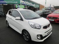 USED 2015 15 KIA PICANTO 1.2 WHITE 3d AUTO 84 BHP 1 OWNER FROM NEW... FULL HISTORY.. AUTOMATIC 3 DOOR HATCHBACK