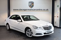 USED 2013 13 MERCEDES-BENZ E CLASS 2.1 E300 BLUETEC HYBRID 4DR AUTO 201 BHP + FULL BLACK LEATHER INTERIOR + 1 OWNER FROM NEW + SATELLITE NAVIGATION + HEATED SEATS + BLUETOOTH + CRUISE CONTROL + PARKING SENSORS + 17 INCH ALLOY WHEELS +
