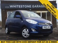 USED 2012 12 HYUNDAI I10 1.2 ACTIVE 5d AUTO 85 BHP ONLY 6000 MILES, FSH, ALLOY WHEELS, AIR COND, AUTOMATIC, 2 KEYS.