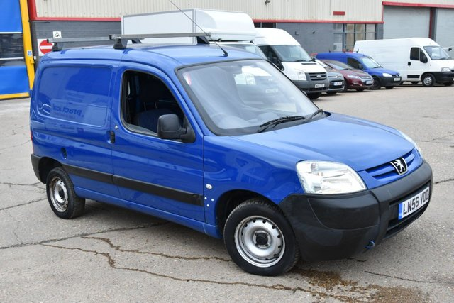 2006 56 PEUGEOT PARTNER 1.9 L 600 D 4d 69 BHP SWB ONE OWNER FROM NEW