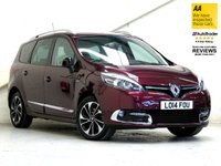 2014 RENAULT GRAND SCENIC 1.6 DYNAMIQUE TOMTOM BOSE PLUS DCI S/S 5d 130 BHP [7 SEATS] £10787.00
