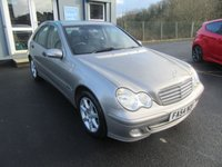 USED 2004 54 MERCEDES-BENZ C CLASS 1.8 C180 KOMPRESSOR CLASSIC SE 4d 141 BHP Immaculate condition, great value