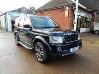 USED 2016 16 LAND ROVER DISCOVERY 3.0 SDV6 LANDMARK 5d AUTO 255 BHP TV,FULL HISTORY,LEATHER,TWO KEYS,SAT NAV,SUNROOF