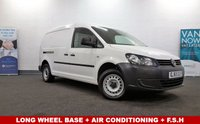 2015 VOLKSWAGEN CADDY MAXI 1.6 C20 TDI STARTLINE  Long Wheel Base Air Con Fully Ply-Lined £7480.00