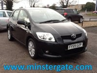 2009 TOYOTA AURIS 1.4 VVT-I LIMITED EDITION 5d 97 BHP * SERVICE HISTORY * £2490.00