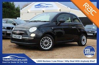 2012 FIAT 500 1.2 C POP 3d 69 BHP £6350.00