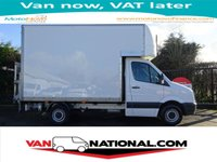 2012 VOLKSWAGEN CRAFTER 2.0 CR35 TDI LUTON 109BHP (ONE OWNER FSH) £12850.00