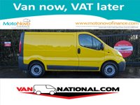 2013 VAUXHALL VIVARO 2.0 2900 CDTI SWB ECOFLEX 115 BHP (ONE OWNER FSH EX AA) AIR CON AND TAILGATE £5890.00