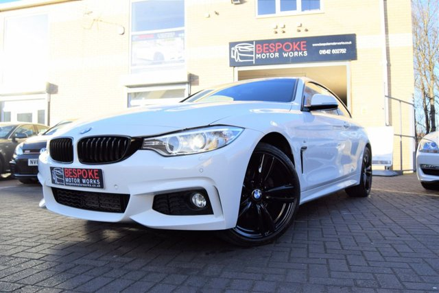 2015 65 BMW 4 SERIES 420D M SPORT 2.0 COUPE AUTOMATIC