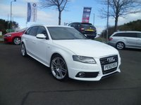 "USED 2010 60 AUDI A4 2.0 AVANT TDI QUATTRO S LINE SPECIAL EDITION 5d 168 BHP FULL SERVICE HISTORY, HALF LEATHER, 19"" ALLOYS, NAV"