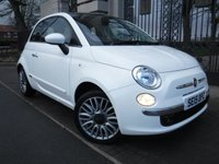 USED 2015 15 FIAT 500 1.2 LOUNGE 3d 69 BHP *** FINANCE & PART EXCHANGE WELCOME *** £ 20 ROAD TAX STOP/START  BLUETOOTH PHONE PARKING SENSORS PANORAMIC ROOF