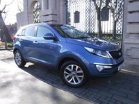 USED 2014 14 KIA SPORTAGE 2.0 CRDI KX-2 5d 134 BHP AWD *** FINANCE & PART EXCHANGE WELCOME *** PANORAMIC ROOF BLUETOOTH PHONE AIR/CON CRUISE CONTROL PARKING SENSORS