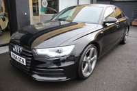 USED 2014 64 AUDI A6 2.0 TDI ULTRA S LINE BLACK EDITION 4d AUTO 188 BHP