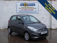 USED 2013 13 HYUNDAI I10 1.2 CLASSIC 5d 85 BHP Full Service History Air Con 0% Deposit Finance Available
