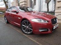 2013 JAGUAR XF 3.0 D V6 R-SPORT 4d AUTO 240 BHP £14995.00