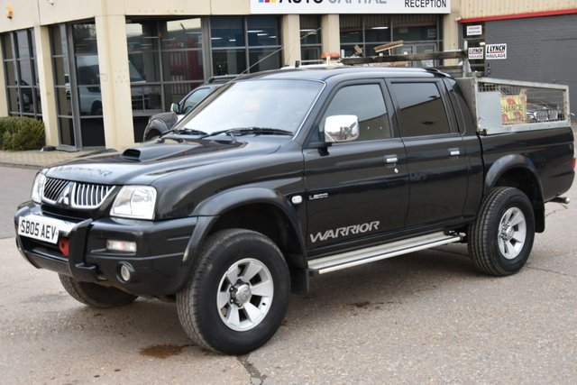 2005 05 MITSUBISHI L200 2.5 TD 4WD LWB WARRIOR DCB 5d 114 BHP SPARE KEY 2 OWNERS FROM NEW