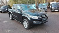 USED 2015 15 VOLKSWAGEN AMAROK 2.0 TDI HIGHLINE 4MOTION DSG AUTO Automatic, Satellite Navigation, Full Leather