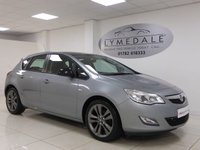 2012 VAUXHALL ASTRA 1.6 ACTIVE LIMITED EDITION 5d 113 BHP £5990.00
