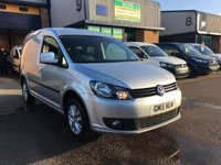 USED 2015 15 VOLKSWAGEN CADDY 1.6 C20 PLUS TDI HIGHLINE 1d 101 BHP SATNAV, A/C, BLUETOOTH, ALLOYS, FULLY LOADED & FINANCE ARRANGED. Recent full service, A/C, Satnav, Bluetooth, parking sensors, cruise control, Radio/CD, e/w, e/m, alloys, colour coded, Drivers airbag, Factory fitted bulk head, Side loading door, 1 Owner, remote Central Locking, Drivers Airbag, CD Player/FM Radio, Steering Column Radio Control, Barn Rear Doors, finance arranged & remaining VW warranty.