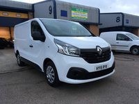 USED 2015 15 RENAULT TRAFIC 1.6 SL29 BUSINESS PLUS DCI L/R P/V 1d 115 BHP A/C, SATNAV, BLUETOOTH, PARKING SENSORS, RENAULT WARRANTY & FINANCE ARRANGED.  Remaining Renault warranty & breakdown cover until 2019, SAT NAV, A/C, Bluetooth, E/W, Radio/CD, Parking sensors, Drivers airbag, Factory fitted bulk head, Side loading door, 1 Owner, remote Central Locking, Drivers Airbag, CD Player/FM Radio, Steering Column Radio Control, Side Loading Door, Barn Rear Doors & finance arranged.