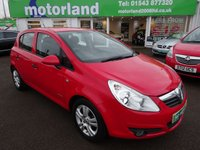 USED 2010 10 VAUXHALL CORSA 1.2 ENERGY 5d 83 BHP 12 MONTHS MOT... 6 MONTHS WARRANTY.. 1 OWNER FROM NEW