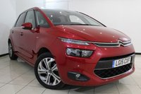 USED 2015 15 CITROEN C4 PICASSO 1.6 E-HDI EXCLUSIVE 5DR 113 BHP FULL SERVICE HISTORY + SAT NAVIGATION + REVERSE CAMERA + PARKING SENSOR + BLUETOOTH + CRUISE CONTROL + PANORAMIC ROOF + MULTI FUNCTION WHEEL + CLIMATE CONTROL + 17 INCH ALLOY WHEELS