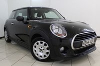 USED 2014 64 MINI HATCH ONE 1.5 ONE D 3DR 94 BHP BLUETOOTH + AIR CONDITIONING + RADIO/CD + ELECTRIC WINDOWS + ELECTRIC MIRRORS