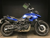 USED 2015 15 BMW F 700 GS LOW MODEL. 15. 521 MILES. FSH. ABS. ASC. TPS. 1 LADY OWNER