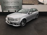2008 MERCEDES-BENZ C 220 CDI SPORT AUTO 5dr  ESTATE £8000.00