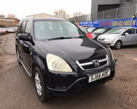 USED 2004 54 HONDA CR-V 2.0 I-VTEC EXECUTIVE 5d 148 BHP