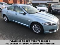 USED 2012 62 JAGUAR XF 2.2 D LUXURY 4d AUTO 190 BHP Full service history,   Full leather upholstery,   Electric driver + passenger seats,   Bluetooth,   Satellite Navigation,   Front and rear parking sensors