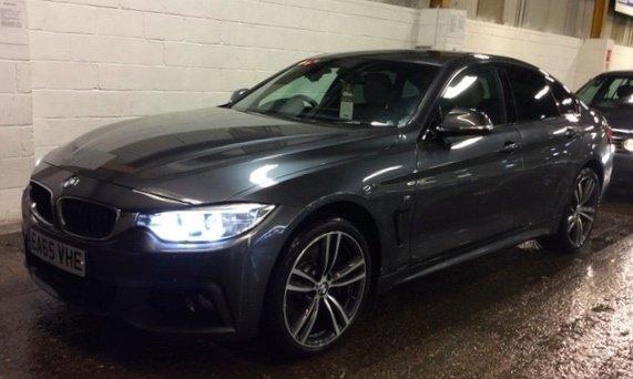 2015 65 BMW 4 SERIES 3.0 435D XDRIVE M SPORT GRAN COUPE 4d AUTO 309 BHP