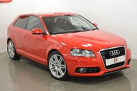 USED 2011 11 AUDI A3 1.4 TFSI S LINE 3d 123 BHP S LINE ALLOYS AND HALF LEATHER SEATS