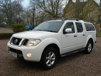 2014 NISSAN NAVARA 2.5 DCI TEKNA 4X4 SHR DCB 1d AUTO 188 BHP £10990.00