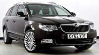 USED 2012 62 SKODA SUPERB 2.0 TDI CR DPF Elegance Laurin & Klement DSG 4x4 5dr Pan Roof, TV, Hot/Cold Seats +