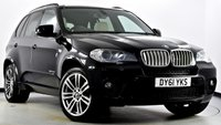 USED 2011 61 BMW X5 3.0 40d M Sport xDrive 5dr [7 Seats] Pan Roof, Reverse Cam, Media +