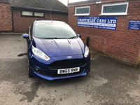 USED 2016 65 FORD FIESTA 1.0 ZETEC S 3d 139 BHP ONE OWNER, FORD WARRANTY 02/2019