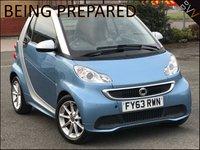 2013 SMART FORTWO CABRIO 0.8 PASSION CDI 2d AUTO 54 BHP £4495.00
