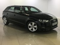 USED 2015 15 AUDI A3 1.6 TDI SPORT 5d 109 BHP 1 Owner/Bluetooth/DAB Radio