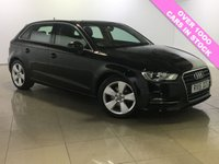 USED 2015 15 AUDI A3 1.6 TDI SPORT 5d 109 BHP One Owner/Bluetooth/DAB Radio