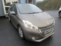 USED 2013 63 PEUGEOT 208 1.6 ALLURE E-HDI 5d 92 BHP 1 previous owner, Long MOT.  Finance available.