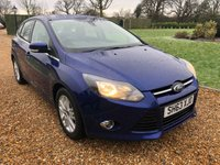 USED 2013 63 FORD FOCUS 1.6 TITANIUM NAVIGATOR TDCI 5d 113 BHP SATNAV, PARK ASSIST, BLUETOOTH