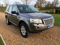 USED 2007 07 LAND ROVER FREELANDER 2.2 TD4 GS 5d 159 BHP PARK ASSIST, CRUISE