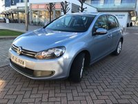 2011 VOLKSWAGEN GOLF 1.6 MATCH TDI DSG 5d AUTO 103 BHP £6290.00