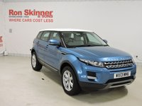 USED 2013 13 LAND ROVER RANGE ROVER EVOQUE 2.2 SD4 PURE TECH 5d 190 BHP with rear view camera