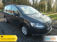 USED 2013 13 VOLKSWAGEN SHARAN 2.0 SE TDI DSG 5d AUTO 142 BHP Fantastic One Owner Low Mileage Automatic Volkswagen Sharan with Climate Control, Cruise Control, Alloy Wheels and Service History