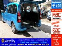 2012 CITROEN BERLINGO MULTISPACE 1.6 HDI VTR 5d 91 BHP WHEELCHAIR ACCESSIBLE 3 SEATS NEW SHAPE £6995.00