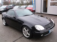 USED 2004 04 MERCEDES-BENZ SLK 2.3 SLK230 KOMPRESSOR 2d AUTO 197 BHP READY FOR SUMMER, EXCELLENT SPEC, GREAT SERVICE HISTORY, DRIVES SUPERBLY